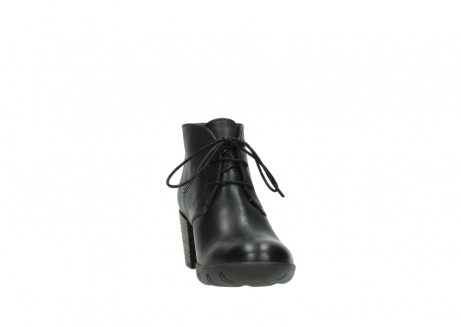 wolky lace up boots 03675 bighorn 30002 black leather_18