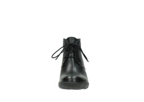 wolky lace up boots 03675 bighorn 30002 black leather_19