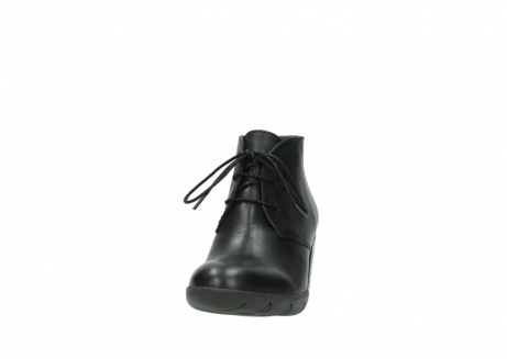 wolky lace up boots 03675 bighorn 30002 black leather_20