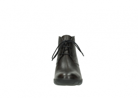 wolky lace up boots 03675 bighorn 30302 brown leather_19