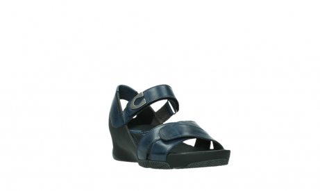 wolky sandalen 03775 epoch 20800 blue leather_5