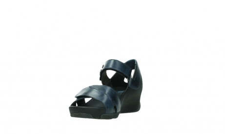 wolky sandalen 03775 epoch 20800 blue leather_9