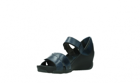 wolky sandalen 03775 epoch 20800 blue leather_10