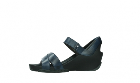 wolky sandalen 03775 epoch 20800 blue leather_12
