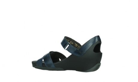 wolky sandalen 03775 epoch 20800 blue leather_15