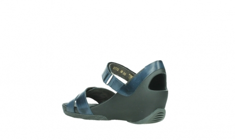 wolky sandalen 03775 epoch 20800 blue leather_16