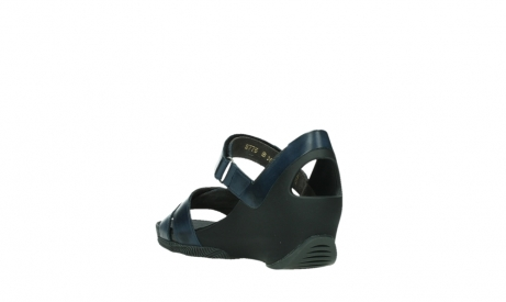 wolky sandalen 03775 epoch 20800 blue leather_17