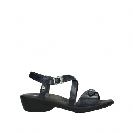wolky sandalen 03850 torrens 30800 blue leather