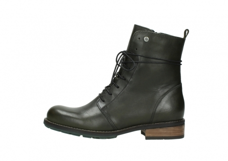 wolky mid calf boots 04438 murray cw 20730 forest green leather cold winter warm lining_1