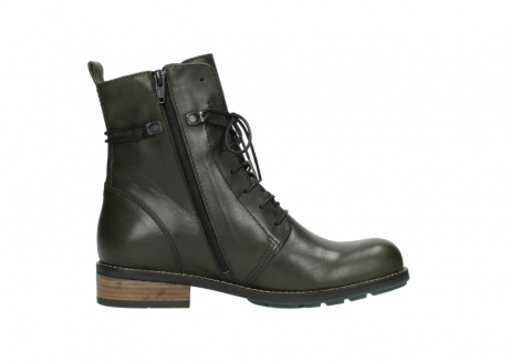 wolky mid calf boots 04438 murray cw 20730 forest green leather cold winter warm lining_13