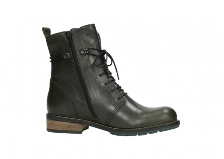 wolky mid calf boots 04438 murray cw 20730 forest green leather cold winter warm lining_14
