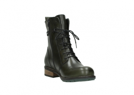 wolky mid calf boots 04438 murray cw 20730 forest green leather cold winter warm lining_17
