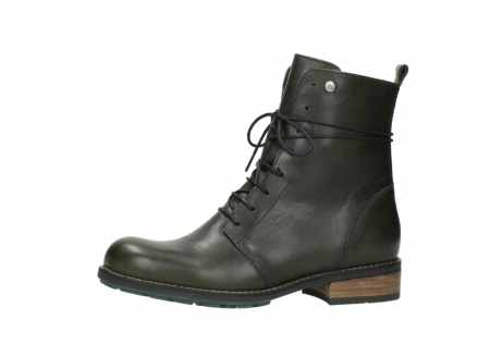 wolky mid calf boots 04438 murray cw 20730 forest green leather cold winter warm lining_24