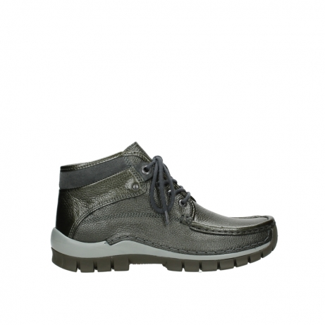 wolky lace up boots 04728 cross winter 81730 green leather
