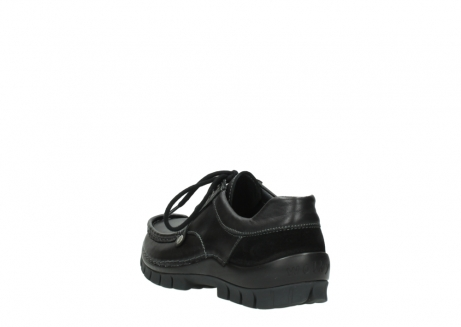 wolky lace up shoes 04734 seamy fly winter 20000 black leather_5