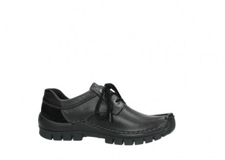 wolky lace up shoes 04734 seamy fly winter 20000 black leather_14