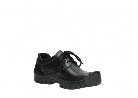 wolky lace up shoes 04734 seamy fly winter 20000 black leather_16