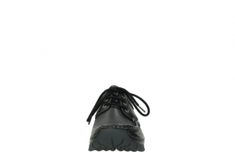 wolky lace up shoes 04734 seamy fly winter 20000 black leather_19