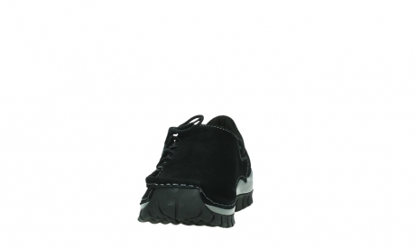 wolky lace up shoes 04737 side winter 40000 black oiled suede_8
