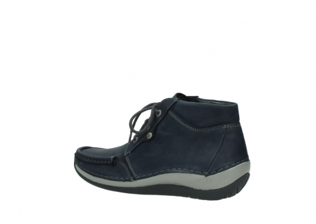 wolky lace up boots 04826 sensation 11802 blue oiled nubuck_3