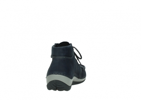 wolky lace up boots 04826 sensation 11802 blue oiled nubuck_8