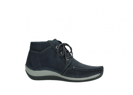 wolky lace up boots 04826 sensation 11802 blue oiled nubuck_14