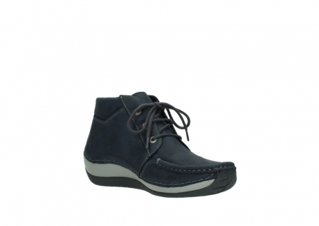 wolky lace up boots 04826 sensation 11802 blue oiled nubuck_16