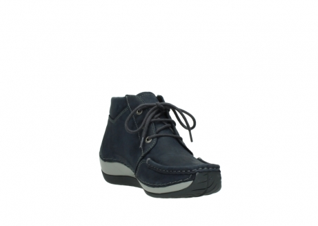 wolky lace up boots 04826 sensation 11802 blue oiled nubuck_17