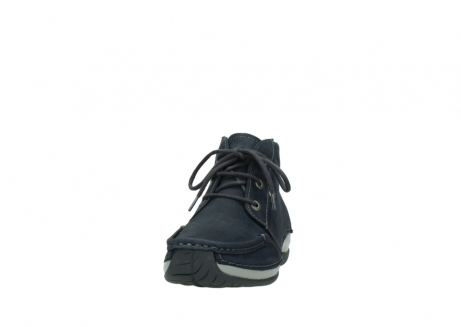 wolky lace up boots 04826 sensation 11802 blue oiled nubuck_20