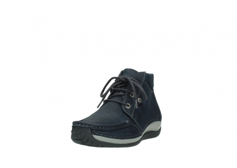 wolky lace up boots 04826 sensation 11802 blue oiled nubuck_21