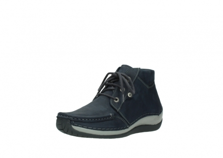 wolky lace up boots 04826 sensation 11802 blue oiled nubuck_22