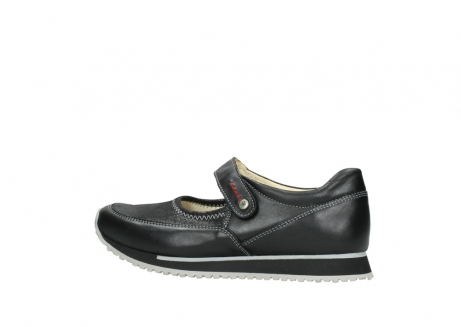 wolky mary janes 05801 e step 20009 black stretch leather_2