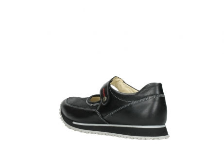 wolky mary janes 05801 e step 20009 black stretch leather_4