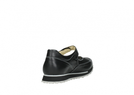 wolky mary janes 05801 e step 20009 black stretch leather_9