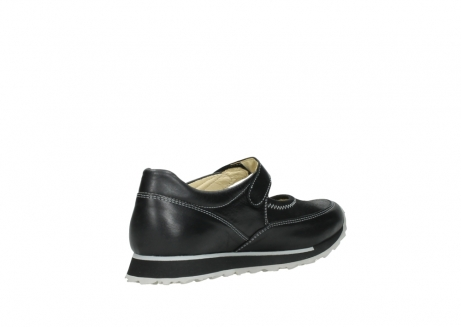 wolky mary janes 05801 e step 20009 black stretch leather_10
