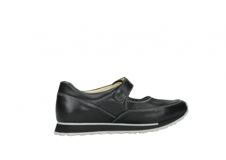 wolky mary janes 05801 e step 20009 black stretch leather_12