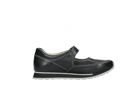 wolky mary janes 05801 e step 20009 black stretch leather_13