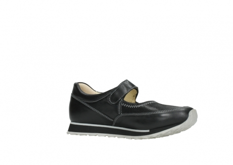 wolky mary janes 05801 e step 20009 black stretch leather_15