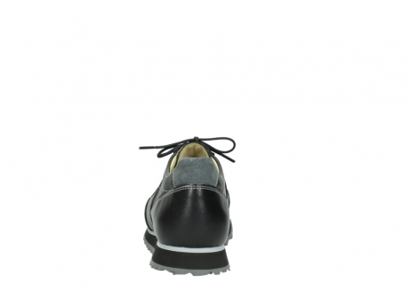 wolky lace up shoes 05803 e sneaker 20009 black stretch leather_7