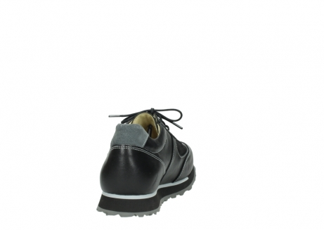 wolky lace up shoes 05803 e sneaker 20009 black stretch leather_8