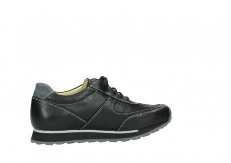 wolky lace up shoes 05803 e sneaker 20009 black stretch leather_12