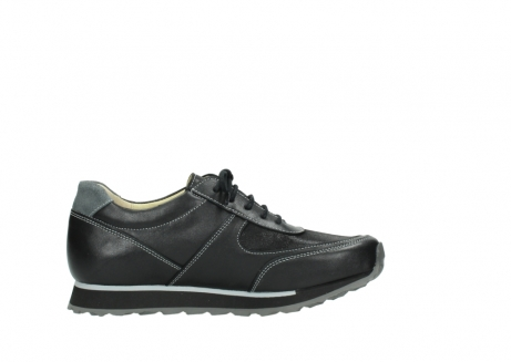 wolky lace up shoes 05803 e sneaker 20009 black stretch leather_13