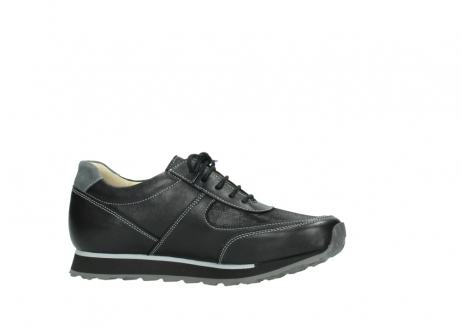 wolky lace up shoes 05803 e sneaker 20009 black stretch leather_14