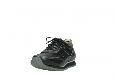 wolky lace up shoes 05803 e sneaker 20009 black stretch leather_21