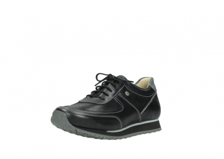 wolky lace up shoes 05803 e sneaker 20009 black stretch leather_22