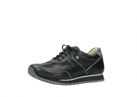 wolky lace up shoes 05803 e sneaker 20009 black stretch leather_23
