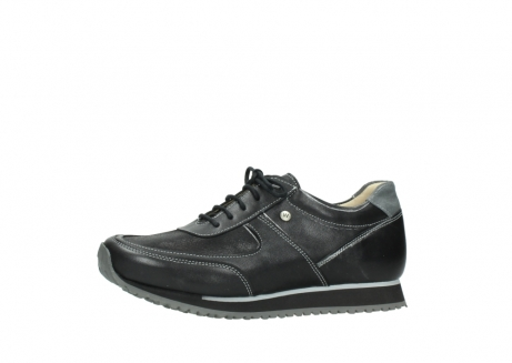 wolky lace up shoes 05803 e sneaker 20009 black stretch leather_24