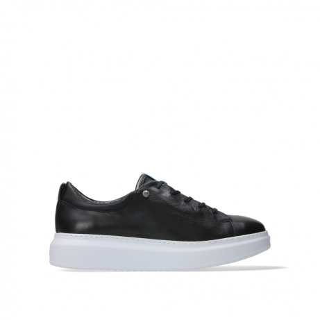 wolky lace up shoes 05875 move it 20000 black leather