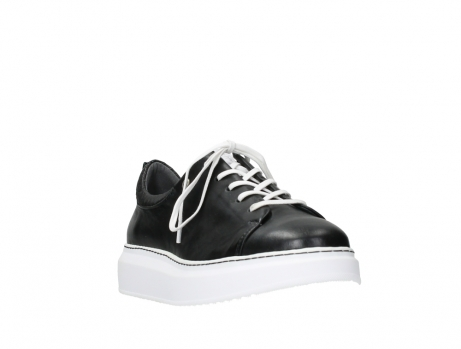 wolky lace up shoes 05875 move it 20000 black leather_5