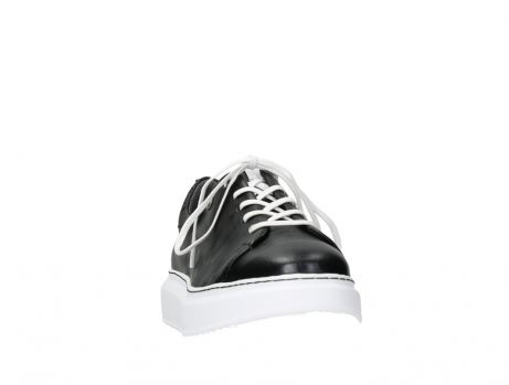 wolky lace up shoes 05875 move it 20000 black leather_6